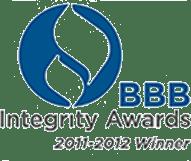 BBB Integrity Award Winner 2011 – 2012