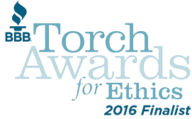 BBB Torch Awards for Ethics (Finalist) 2016